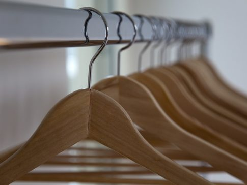 Clothes Rack with 15 hangers